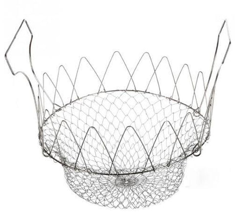 Collapsible Wire Cooking Chef Basket