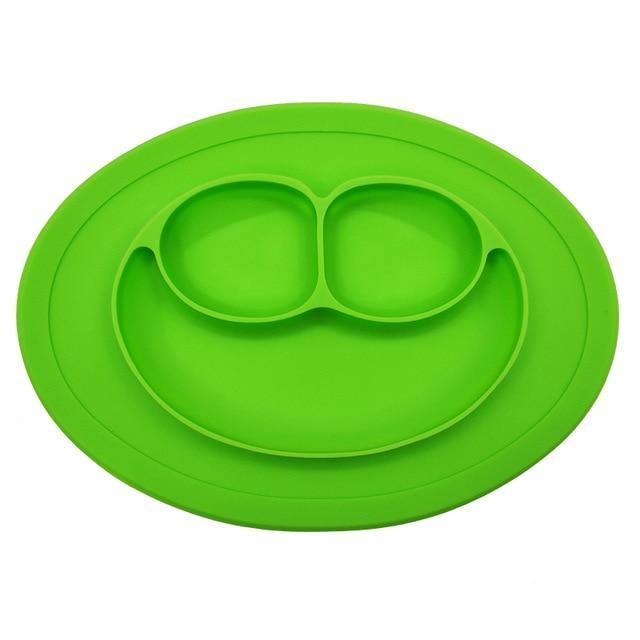 Best Toddler Silicone Suction Baby Divided Plate