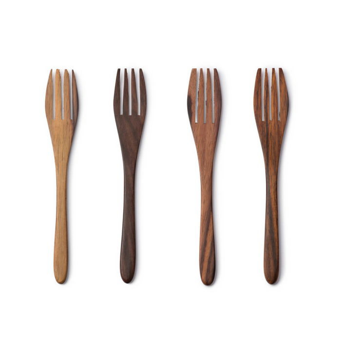 Wooden Sono Forks - Set of 4
