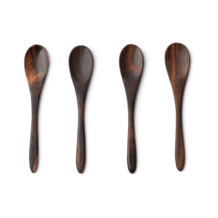 Wooden Sono Spoons: Set of 4