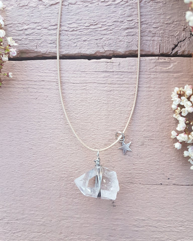Twinkle Twinkle - Handmade Quartz Necklace