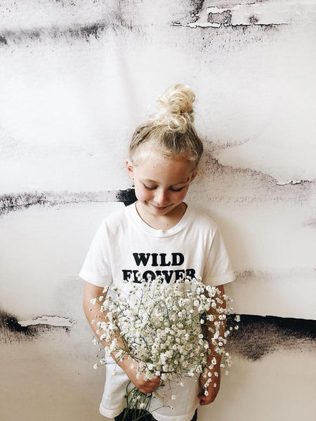 Savage Seeds Wild Flower Kid's Youth Tee