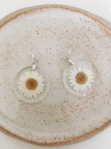 Handmade Daisy Earrings