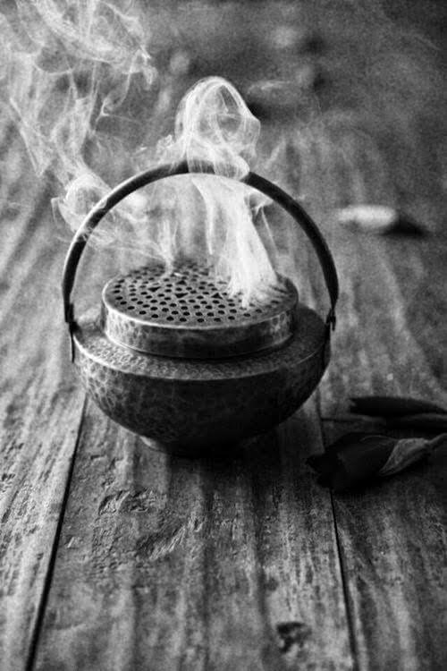 The Ritual of Burning Incense