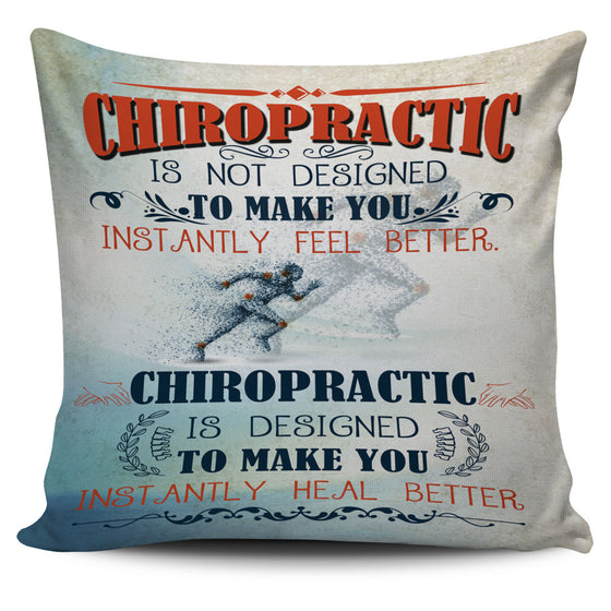 Chiropractic Pillow Cover