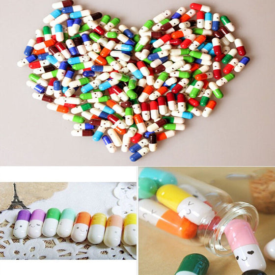 Pharmacist/ Pharmacy Tech 50 Pieces of  Smile Pill Wishing Note V1