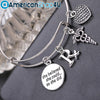 Pharmacist/ Pharmacy Technician- She Believed She Could Rx Symbol Bangles