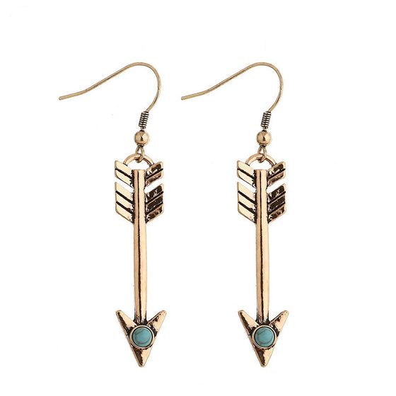 Archery Tribal  Arrow Earrings H2