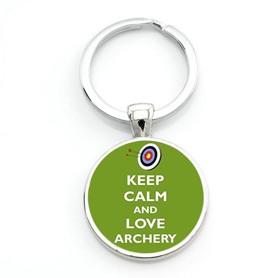 Archery Love Archery Key Chain H2