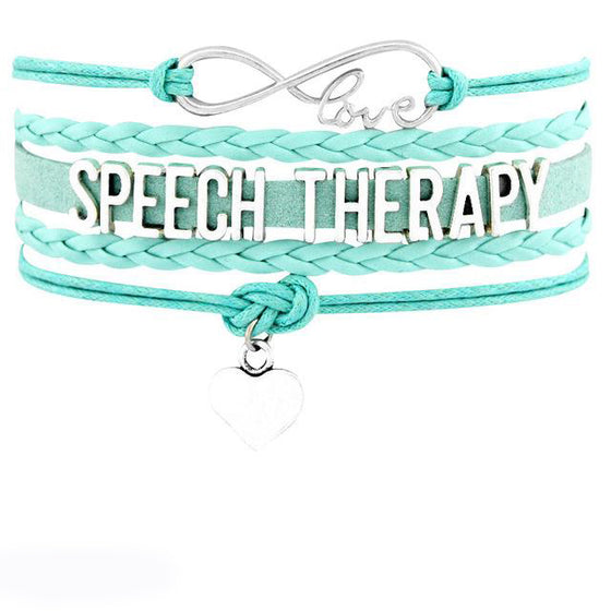 Speech Language Therapist Letter Bracelet