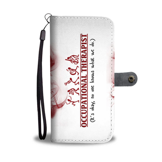 Occupational Therapist Okay Wallet Case