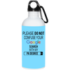 Google Physician Assistant 20 oz. Stainless Steel Water Bottle