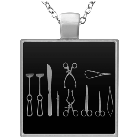 Surgical Technologist- Square Necklace- Kit