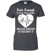 EMS Paramedic EMT Cute Ladies' 100% Cotton T-Shirt
