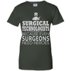 Hero - Surgical Technologist Ladies' 100% Cotton T-Shirt