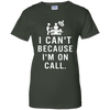 On Call - Surgical Technologist  Ladies' 100% Cotton T-Shirt
