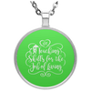 OT Teaching Occupational Therapy  Circle Necklace