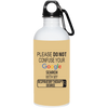 Google Respiratory Therapist 20 oz. Stainless Steel Water Bottle