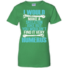 Joke Radiology Ladies' 100% Cotton T-Shirt