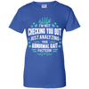 Analyzing Physical Therapy PT Ladies' 100% Cotton T-Shirt