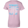Prayer Occupational Therapis Ladies' 100% Cotton T-Shirt