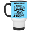 Paid - Physical Therapist White Travel Mug