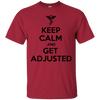 KEEP CALM CHIROPRACTOR Cotton T-Shirt