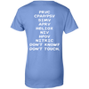 Touch - Respiratory Therapist Ladies' 100% Cotton T-Shirt