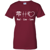 Live Love Heal Physician Assistant Gildan Ladies' 100% Cotton T-Shirt