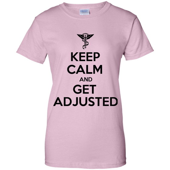 KEEP CALM Ladies' 100% Cotton T-Shirt