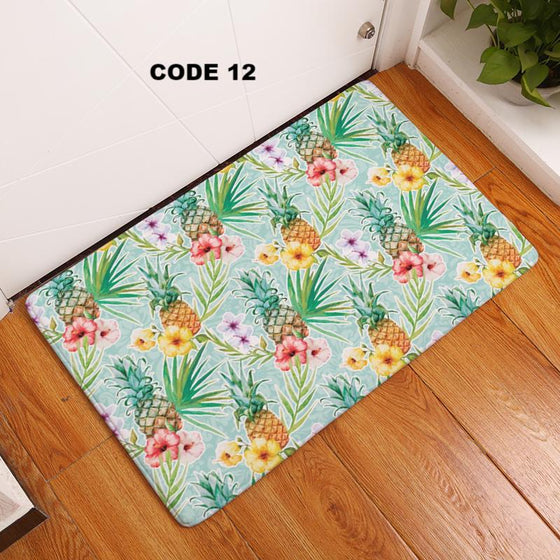 Registered Dietitian/ Nutritionist- Cartoon Pineapple Fruits Non-Slip Floor Mats