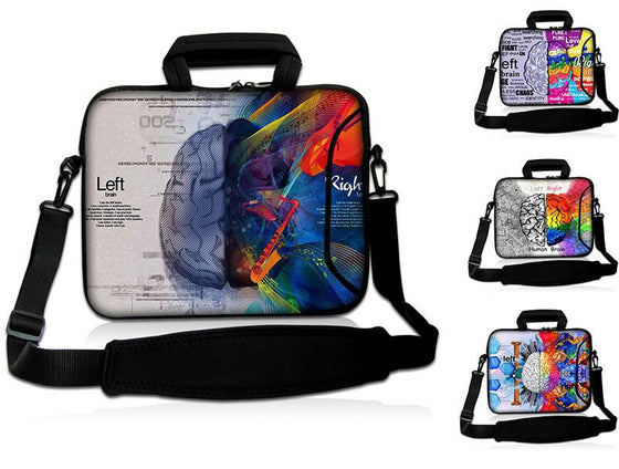Occupational Therapist- Brain Prints Laptop Bags 15- 17 inch T1 (Different Styles)