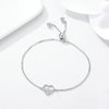 925 Sterling Silver Heartbeat Bracelet for MAs, PAs