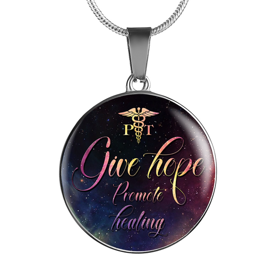 Give Hope PT PTA - Physical Therapy Necklace & Bangle