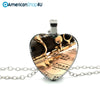 Heart Clarinet Necklace