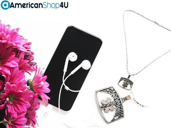 EMS- Paramedic Star of Life Necklace T1
