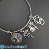 EMS- Paramedic/ EMT Charm Stainless Steel Bracelet & Bangle T1