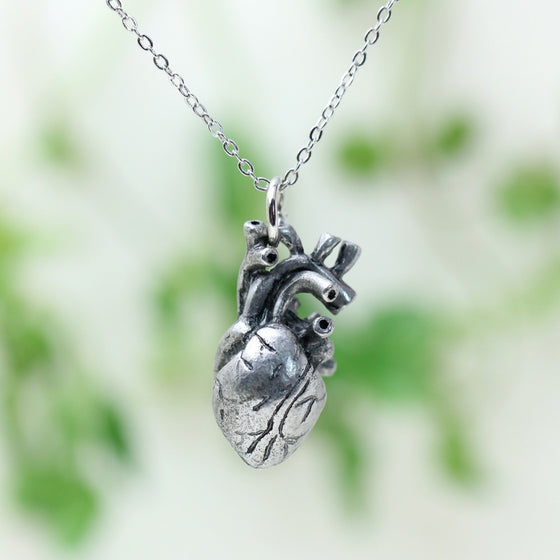 EMS- Paramedic/ EMT- Anatomical Heart Necklace (6 Different Codes) T1