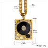 DJ Phonograph Necklace