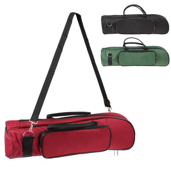 Trumpet Slade Soft Cotton Bag Case Double Zippers T1 (3 colors )