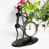 Black Trombone Desk Clock