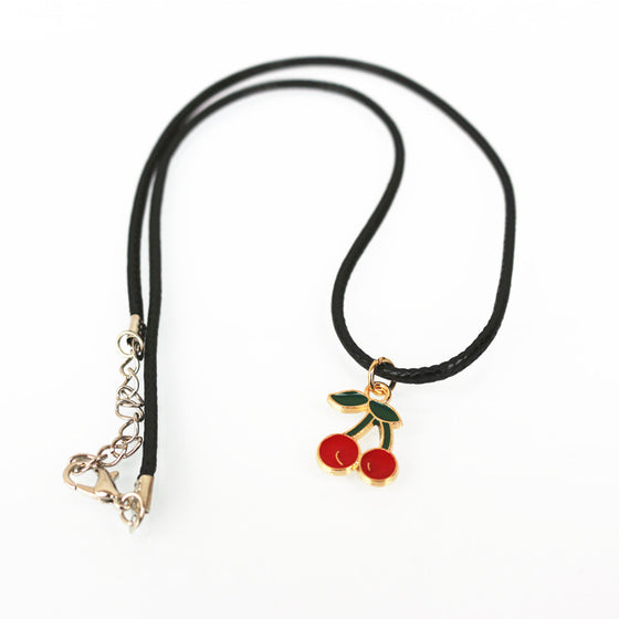 Registered Dietitian/ Nutritionist Cherry Necklace