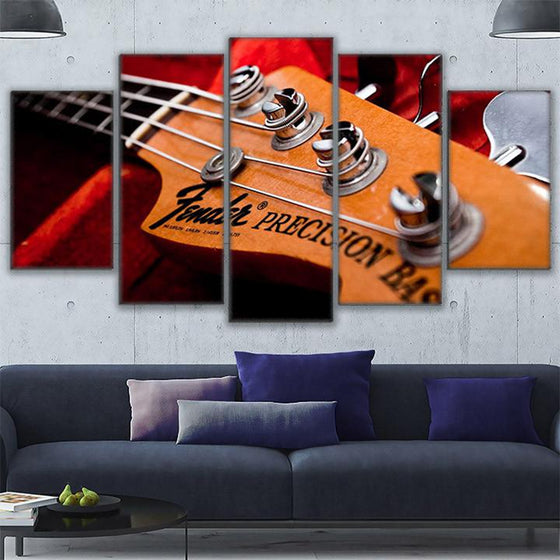 Fender Bass Canvas Paintings