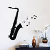 Saxophone Wall Stickers 2