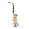 Mini Saxophone With Metal Stand