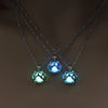 Veterinarian- Vet Tech- Dog Paw Glow In The Dark Necklaces