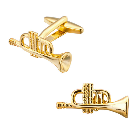 Trumpet Cuff links shirt 1
