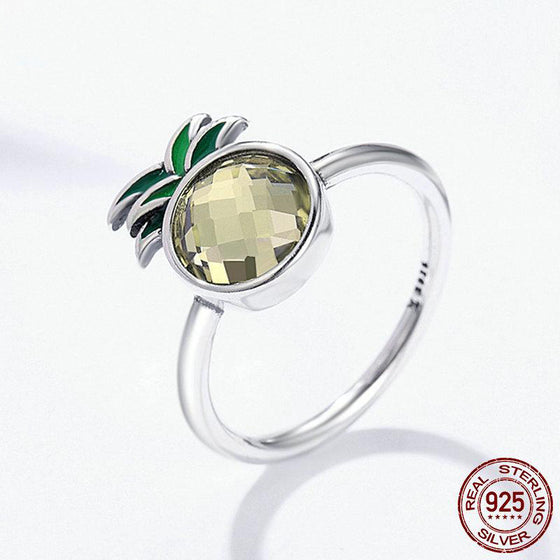 Registered Dietitian/ Nutritionist- 925 Silver Pineapple Ring T1