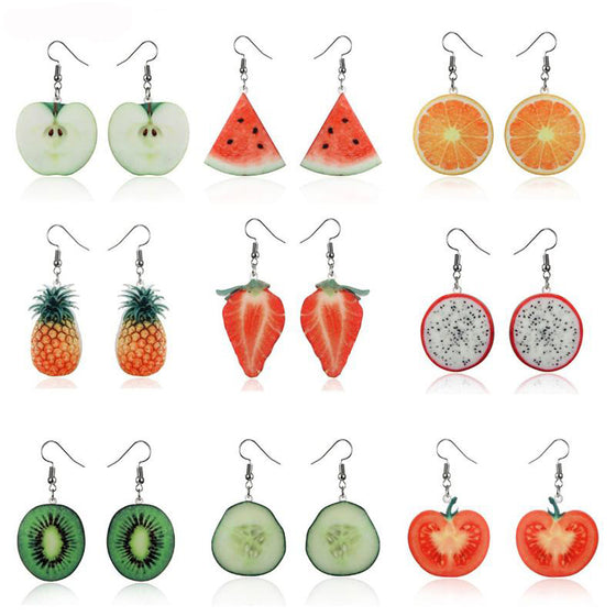 Registered Dietitian/ Nutritionist Cute Fruit Earrings