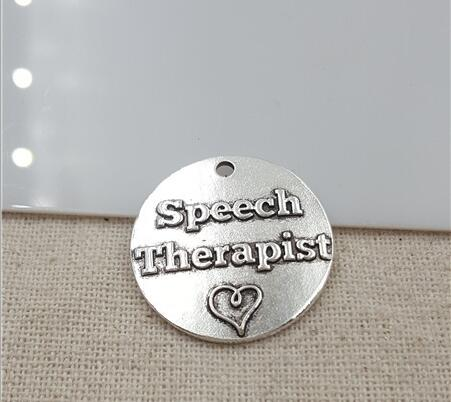 Speech Language Therapy 10 Pieces of Letter Charm